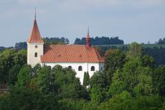 Kostel ve Třebsku